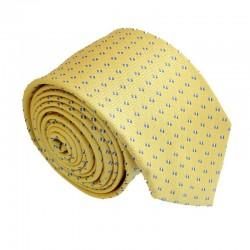 Žltá kravata ANGELO di MONTI ADM-162