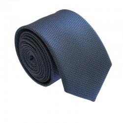 Čierna kravata ANGELO di MONTI ADM-163