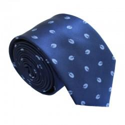 Modrá kravata ANGELO di MONTI ADM-168