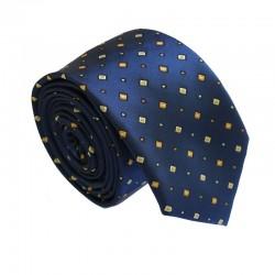 Modrá kravata ANGELO di MONTI ADM-169