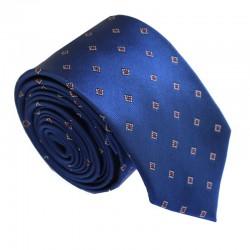 Modrá kravata ANGELO di MONTI ADM-171
