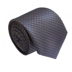 Hnedá kravata ANGELO di MONTI ADM-176