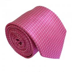 Ružová kravata ANGELO di MONTI ADM-188