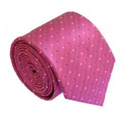 Ružová kravata ANGELO di MONTI ADM-189