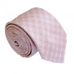 Svetlo ružová kravata ANGELO di MONTI ADM-190