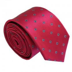 Vínová kravata ANGELO di MONTI ADM-195