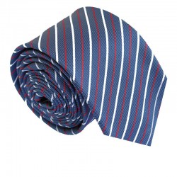 Modrá kravata ANGELO di MONTI ADM-201