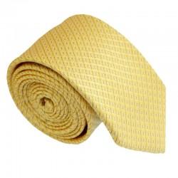 Žltá kravata ANGELO di MONTI ADM-207