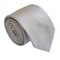 Tmavo krémová kravata ANGELO di MONTI ADM-214