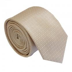 Tmavo krémová kravata ANGELO di MONTI ADM-215