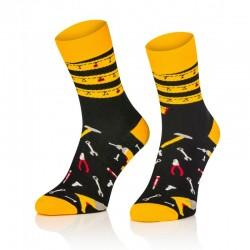 Pánske ponožky MARROM - stavbár 41/43