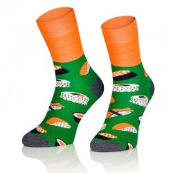 Pánske ponožky MARROM - sushi 41/43