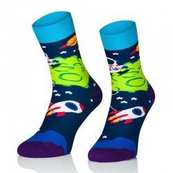 Pánske ponožky MARROM - vesmír 44/46
